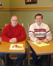 Ken Bowers and John Frochio