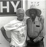 James J. Fields III and Tom Hicks