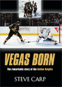 Vegas Born: The Remarkable Story of The Golden Knights cover