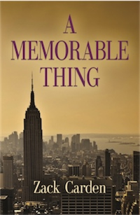 A MEMORABLE THING cover