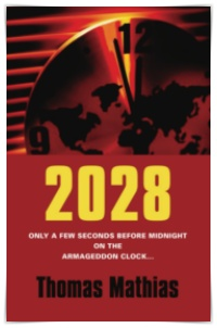 2028: Only a few seconds before midnight on the Armageddon Clock..... by Thomas Mathias