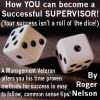 How YOU can become a Successful SUPERVISOR! by roger nelson