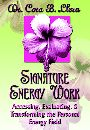 Signature Energy Work: Accessing, Evaluating and Transforming the Personal Energy Field by Dr. Cora B. Llera