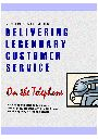 Delivering Legendary Customer Service on the Telephone by Richard S. Gallagher
