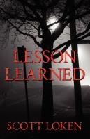 Lesson Learned by Scott Loken