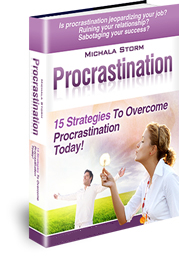 Procrastination - 15 Strategies To Overcome Procrastination Today! by Michala Storm