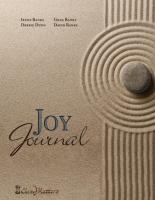 Joy Journal by Irene Banks, Debbie Dunn, Greg Banks, David Banks