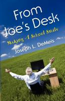 FROM JOE'S DESK: Making A School Smile by Joseph L. DeMeis