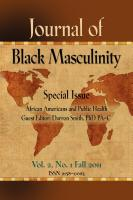 Journal of Black Masculinity Vol. 2, No. 1 Fall  2011 by C.P. Gause