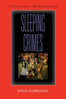 SLEEPING CRIMES by Joyce Slobogian