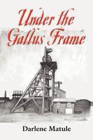 Under the Gallus Frame by Darlene Matule