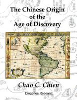 The Chinese Origin of the Age of Discovery (English Edition) by Chao C. Chien