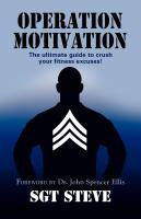 Operation Motivation by SGT Steve