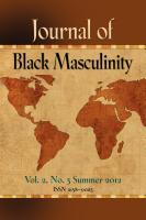 Journal of Black Masculinity Vol. 2 No. 3 Summer 2012 by C.P. Gause