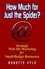 How Much for Just the Spider? Strategic Web Site Marketing for Small-Budget Businesses by Bobette Kyle