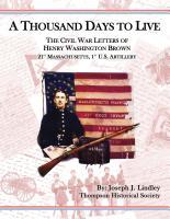 A Thousand Days to Live by Joe Lindley