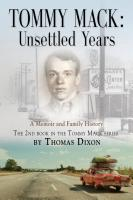TOMMY MACK: Unsettled Years cover