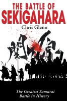 THE BATTLE OF SEKIGAHARA: The Greatest Samurai Battle in History cover