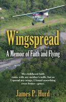 WINGSPREAD: A Memoir of Faith and Flying cover