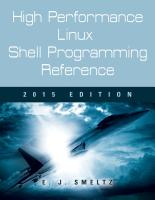 High Performance Linux Shell Programming Reference    2015 Edition cover