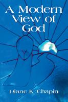 A Modern View of God by Diane Chapin
