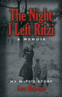 THE NIGHT I LEFT RITZI by Gary McGregor