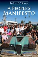 A People's Manifesto cover
