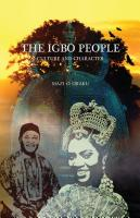 THE IGBO PEOPLE: Culture and Character cover