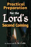 Practical Preparation for the Lord's Second Coming by L. M. Cobb