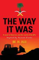 THE WAY IT WAS: A Novel of America and the World of the 60's cover