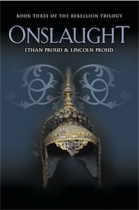 ONSLAUGHT: Book Three of the Rebellion Trilogy cover