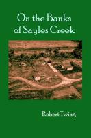 On the Banks of Sayles Creek by Robert Twing