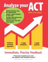 Analyze your ACT by Winni van Gessel
