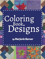 Coloring Book Designs by Marjorie Barner