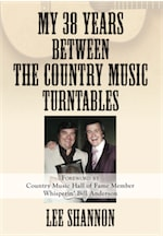 My 38 Years Between the Country Music Turntables cover