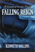 Falling Reign: A Legend of Levnar Novel cover