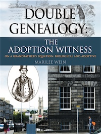 DOUBLE GENEALOGY: The ADOPTION WITNESS cover