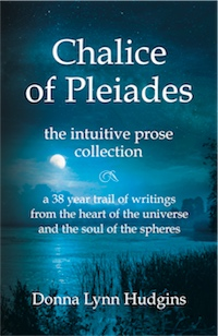 Chalice of Pleiades: the intuitive prose collection cover