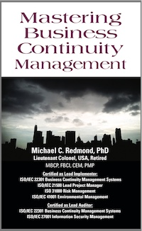 Mastering Business Continuity Management cover