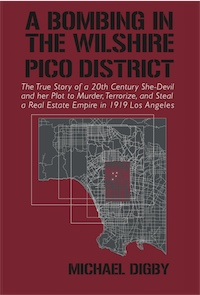 A BOMBING IN THE WILSHIRE-PICO DISTRICT: The True Story of a 20th Century She-Devil and Her Plot to Murder, Terrorize and Steal a Real Estate Empire in 1919 Los Angeles cover